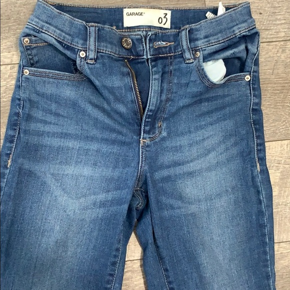 Garage High Rise jean - Empire Blue